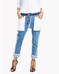 DSquared² - Blue Inside Out Icon Jeans - Lyst