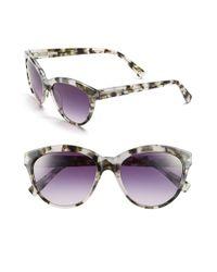 Derek Lam - Gray 'amira' 55mm Sunglasses - Lyst