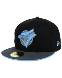 KTZ - Black Toronto Blue Jays G-flip 59fifty Cap for Men - Lyst