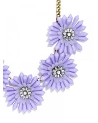 BaubleBar | Purple Lilac Collar | Lyst