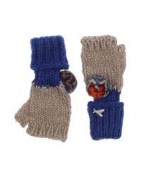 Patrizia Pepe - Blue Gloves - Lyst