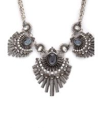 Forever 21 - Metallic Mysterious Fan Bib Necklace - Lyst