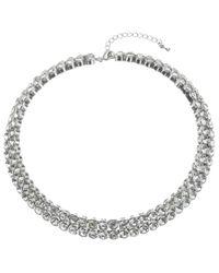 John Lewis   Metallic Diamantã© Statement Collar Necklace   Lyst