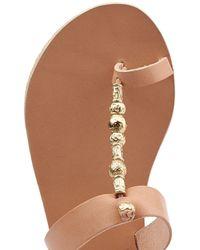 Ancient Greek Sandals - Natural Ancient Greek Sandals Iris Leather Sandals - Multicolor - Lyst