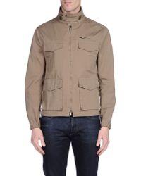 Emporio Armani   Natural Jacket for Men   Lyst