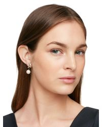Kate Spade | Multicolor Dainty Sparklers Cluster Ear Jacket | Lyst