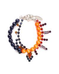 Joomi Lim - Blue Crystal Bead Bracelet - Lyst