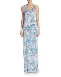 Young Fabulous & Broke - Blue Hampton Maxi Dress - Lyst