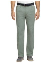 Brooks Brothers | Green Elliot Fit Garment-dyed Chinos for Men | Lyst