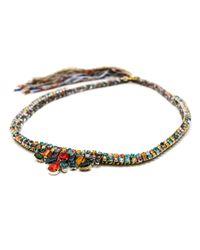 Alyssa Norton | Multicolor Multicoloured Rhinestone Necklace | Lyst