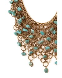 Forever 21 - Metallic Free Spirit Bib Necklace - Lyst