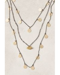 Anthropologie - Metallic Mariette Coin Necklace - Lyst