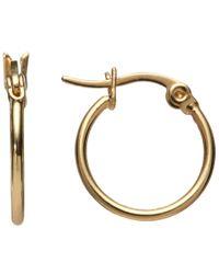 John Lewis | Metallic Hoop Earrings | Lyst