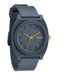 Nixon   Gray 'the Time Teller' Watch for Men   Lyst
