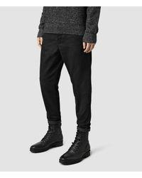 AllSaints | Black Marteau Chino for Men | Lyst
