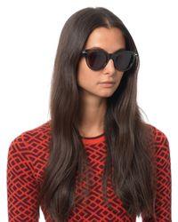 Céline - Gray D-Framed Acetate Sunglasses - Lyst
