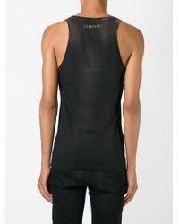 DSquared² - Black Rockin Twins Print Vest for Men - Lyst