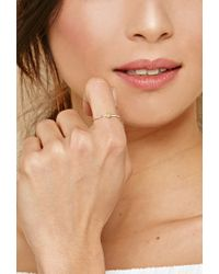 Forever 21 - Metallic Cool And Interesting Heart Ring - Lyst