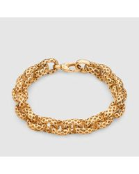 Gucci | Metallic Diamantissima Light Bracelet | Lyst