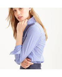 J.Crew - Blue Favorite Shirt In Stripe - Lyst