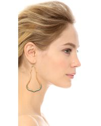 Aurelie Bidermann - Metallic Sculpted Earrings - Gold - Lyst