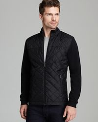 BOSS - Blue Boss Pizzoli Milano Quilted Jacket for Men - Lyst