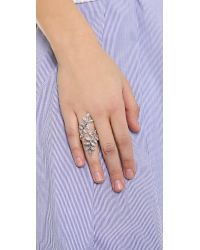 Ca&Lou - Metallic Anne Contrarie Ring - Lyst