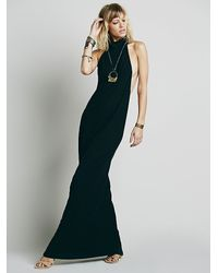 Free People - Black Sexy Back Cindy Dress - Lyst
