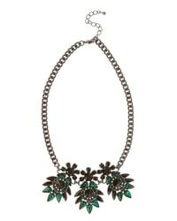 Coast | Green Corine Necklace | Lyst