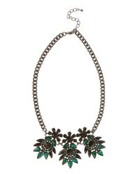Coast - Green Corine Necklace - Lyst