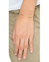 Tai | Metallic Elephant Bracelet | Lyst