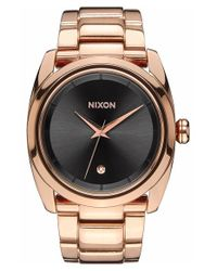 Nixon - Metallic 'queenpin' Extra Large Bracelet Watch - Lyst