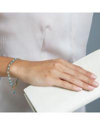 Astley Clarke   Blue Be Very Cool Friendship Bracelet   Lyst