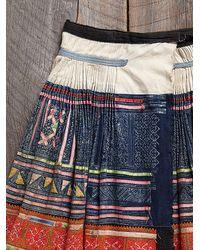 Free People - Multicolor Vintage Embroidered Skirt - Lyst