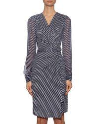 Diane von Furstenberg | Blue Sigourney Two Dress | Lyst