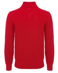 Napapijri | Red Hanson Jumper for Men | Lyst