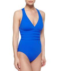 La Blanca - Blue Core Multi-strap Center One-piece Swimsuit - Lyst