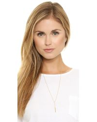 Elizabeth and James - Metallic Logan Pendant Necklace - Lyst