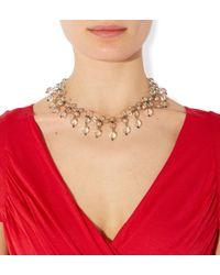 Hobbs - Metallic Isabel Necklace - Lyst