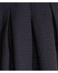 H&M - Black Crinkled Skirt - Lyst