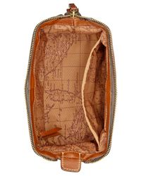 Patricia Nash | Brown Unisex Nash Heritage Leather Travel Shave Kit/cosmetics Case | Lyst