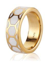 Astley Clarke | Metallic Moonlight Prismic Enamel Ring | Lyst