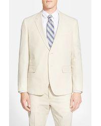 Haspel - Natural Trim Fit Seersucker Cotton Sport Coat for Men - Lyst