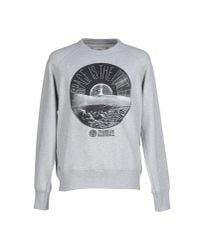 Franklin & Marshall - Gray Sweatshirt for Men - Lyst
