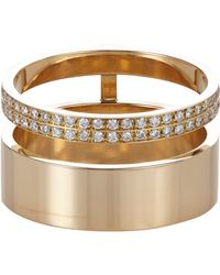 Repossi | Metallic Berbere Module Double-band Cage Ring | Lyst