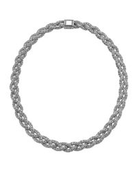 John Hardy - Metallic Small Braided Silver Chain Necklace - Lyst