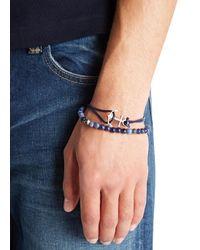 Simon Carter - Blue Bracelets - Set Of Two for Men - Lyst