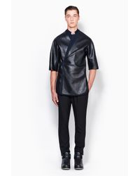 3.1 Phillip Lim - Black Exclusive: Judo Shirt Jacket for Men - Lyst