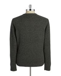 Original Penguin | Black Wool V-neck Sweater for Men | Lyst