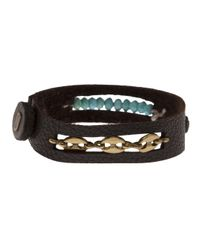 Beth Orduna - Brown Beaded Bracelet - Lyst